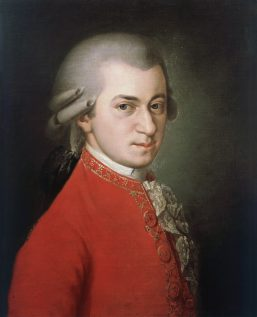 DGA574471 Austria, Portrait of Wolfgang Amadeus Mozart (1756 - 1791); (add.info.: Austria - 18th century. Portrait of Wolfgang Amadeus Mozart (Salzburg, 1756 - Vienna, 1791), Austrian composer and pianist.  Artwork-location: Vienna, Gesellschaft Der Musikfreunde); De Agostini Picture Library / A. Dagli Orti;  out of copyright
